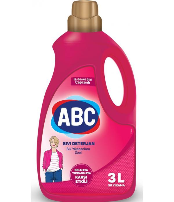 ABC Sıvı Çamaşır Deterjanı Narinler 3 lt
