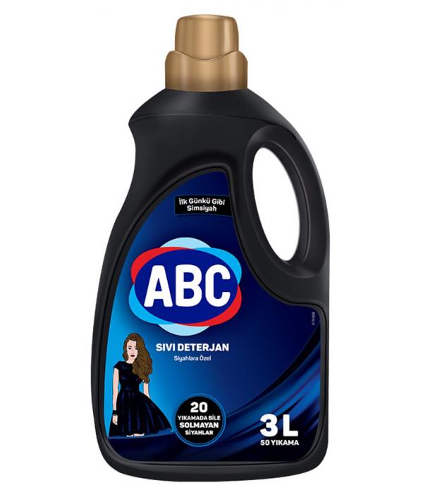 ABC Sıvı Matik 3 lt Siyahlara Özel 50 Yıkama