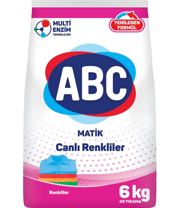 ABC Matik Color Toz Deterjan 6 kg