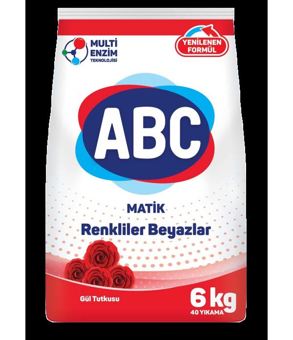 ABC Matik Renkliler Beyazlar Gül Tutkusu 6 kg