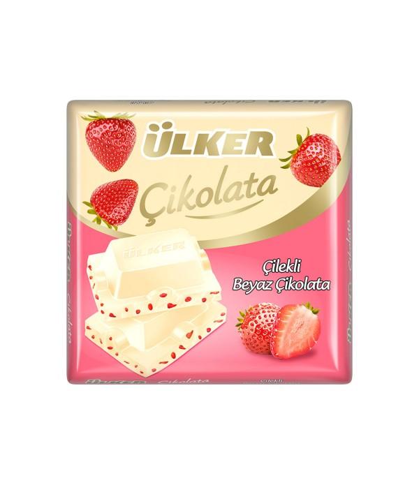Ülker Çilekli Beyaz Çikolata 60 gr