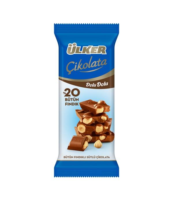 Ülker Dolu Fındık Çikolata 50 gr
