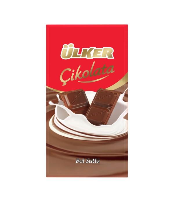 Ülker Sütlü Çikolata 80 gr