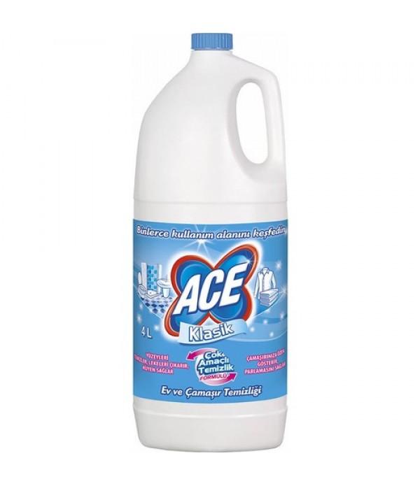 Ace Çamaşır Suyu Klasik 4 lt