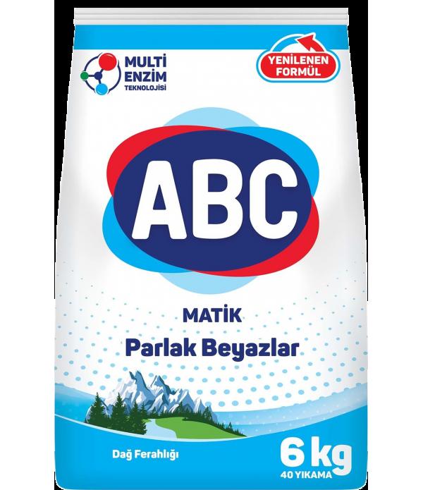 ABC Matik Parlak Beyazlar Dağ Ferahlığı  6kg
