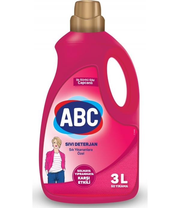 ABC Sıvı Matik 3 lt Sık Yıkayanlara Özel 50 Y...